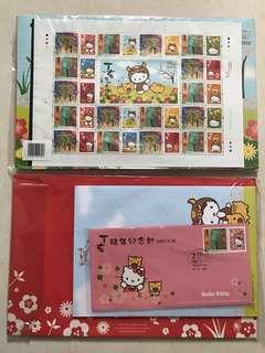 2017 Sanrio Hello Kitty Limited Edition Stamp Pack紀念郵票首日封套裝(*限量發行。極具收藏價值)