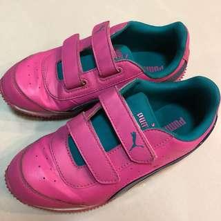 🚚 大童PUMA女童童鞋  尺寸: EUR33 20cm