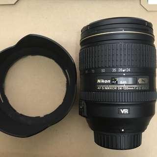 Nikon 24-120mm f4 (水)