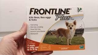 Feontline Plus Kills fleas, flea eggs and ticks (包郵)