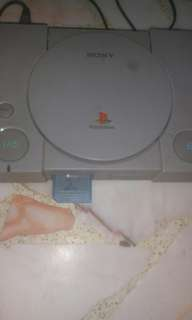 Vintage Playstation 1 modified