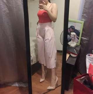 HIGH WAIST WIDE LEG PANTS/culottes