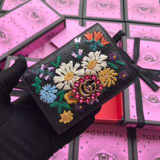 Gucci Double G Stone Wallet