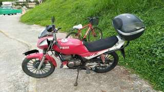 Yamaha RXZ Red 135
