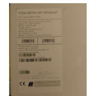Yogabook 64 GB Win 10 Pro
