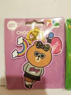 台灣 Line friends Choco 悠遊卡