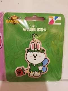 台灣 Line friends Line Ranger Cony 造型悠遊卡
