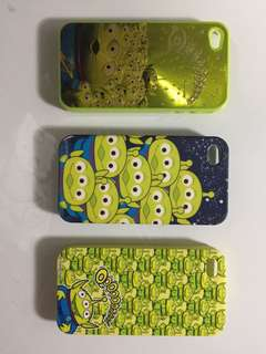 Case Alien Disney Iphone 4/4s D