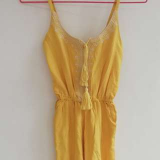 Yellow romper (small)