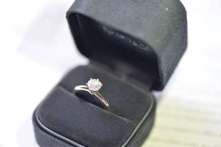 Tiffany 1 卡鑽石戒指, 求婚, engagement ring, diamond