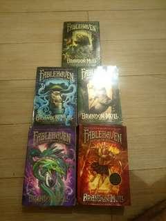 Brandon Mull's FableHaven series