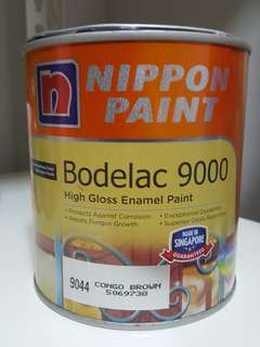 nippon paint bodelac 9000 9044 congo brown