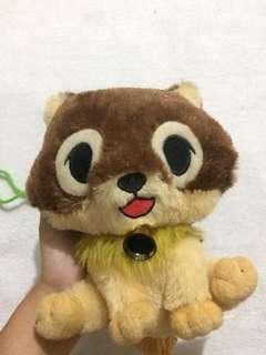 Wallet stuffed toy