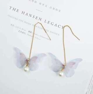 Korea Butterfly Earrings