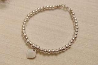💐全新 林心如款925銀飾愛心手環💐
