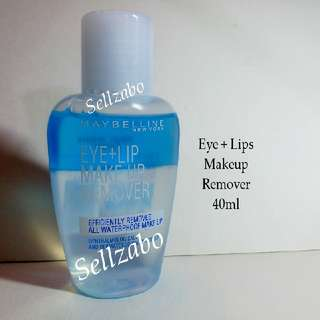 Maybelline Eyes Lips Face Makeup Remover For Waterproof Cosmetics Sellzabo Cleansing