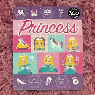 300 Mini Stickers <Princess>