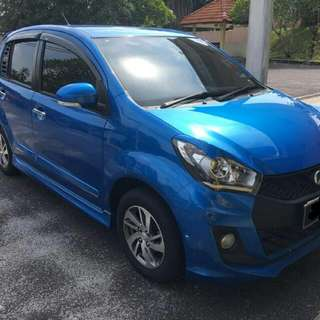 Perodua Myvi Se 1.5(A) 2016