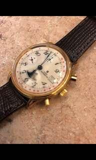 Cyma (38mm) 磁面計時月相錶