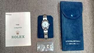 Stainless Steel Oyster Perpetual Rolex Watch