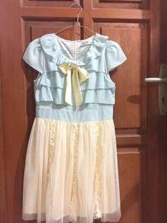 Dress Blue Cream
