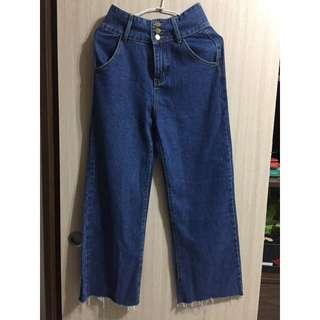 牛仔褲 S-M