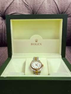 Stainless & Yellow Gold Oyster Perpetual Rolex Watch