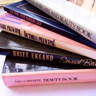[Inc Pos] Set Of 5 Vintage Beauty Books.