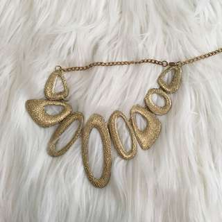 Gold choker / necklace