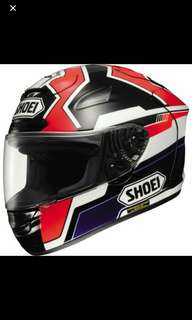 Helmet Shoei X-12 Marquez
