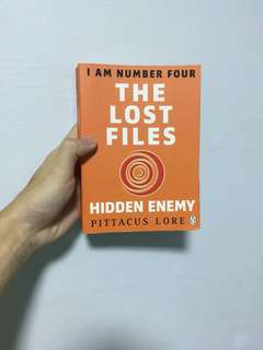 I AM NUMBER FOUR Novella : The lost files - hidden enemy