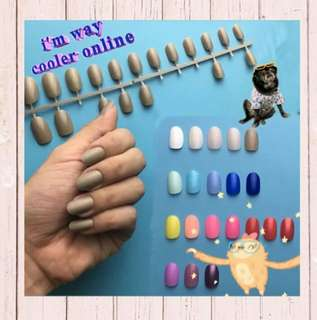 Fake Nails Colour