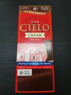 Cielo Cream Hair Colour Dye