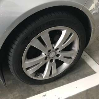 Mercedes Rims and Tyres