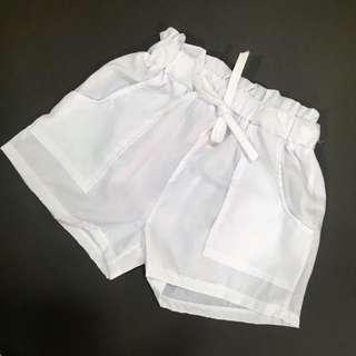 ✅Harga Borong✅White Shorts Pants(Girl)