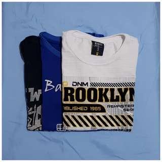 Brooklyn/Batanes/Sagada T-Shirt Bundle - S