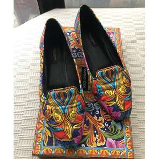Dolce Gabbana D&G   loafers / flats / shoes  **Made in Italy  **Size 37 ....