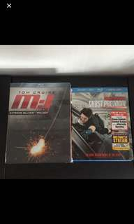 Mission: Impossible blu rays