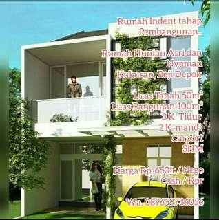 Rumah Indent.. Tahap Pembangunan
