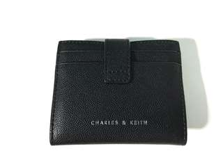 Charles & Keith Snap Button Card Holder