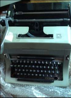 Typewriter in working condition with extra carbon ribbons