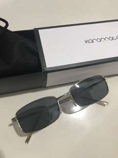 Karamata Chrona Black Sunglasses