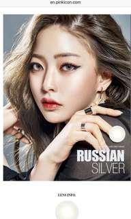 O Lens Russian Velvet Silver -8.0
