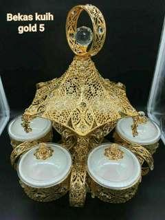 Gold 5 bekas kuih