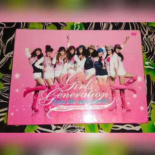 [SALE] 소녀시대 Girls' Generation - Into The New World (The First Asia Tour) Album DVD