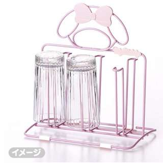 MY MELODY MUG STAND*2017 SERIES*CUP*ABS MATERIAL*METAL*CUTE*FANCY*SANRIO*ORIGINAL