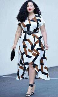 Plus size dress/shi