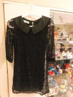 知名品牌ALLK蕾絲洋裝兼上衣