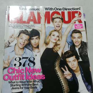 Glamour mag August 2013 One Direction