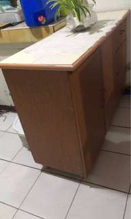 Rush Sale Counter top with cabinet and drawer